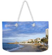 Nerja Beach On Costa Del Sol Weekender Tote Bag