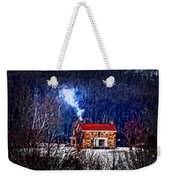 Nestled In For The Winter Weekender Tote Bag