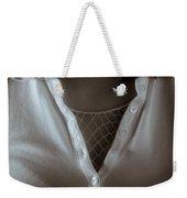 Netted Cleavage Weekender Tote Bag