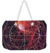 Neutrino Tracks Weekender Tote Bag