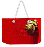 Never A Shortage Of #snails Back Here Weekender Tote Bag by Katie Cupcakes