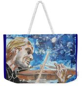 Never Forget The Sound Of Violin Weekender Tote Bag