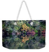 New England Fall Reflection Weekender Tote Bag