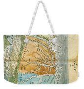 New England To Virginia, 1651 Weekender Tote Bag by Photo Researchers