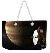 New Horizons Flies By Jupiter Weekender Tote Bag