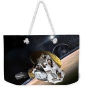 New Horizons Spacecraft At Pluto Weekender Tote Bag