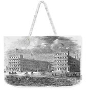 New Jersey Hotel, 1853 Weekender Tote Bag