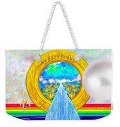 New Jerusalem Closeup - City Of God's Kingdom On Earth Weekender Tote Bag