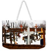 New Mexico Christmas Eve Weekender Tote Bag