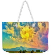 New Mexico Dawn Weekender Tote Bag