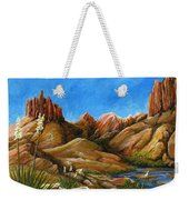 New Mexico Highlands In Spring Weekender Tote Bag