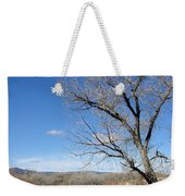 New Mexico Series - A View Espanola Weekender Tote Bag