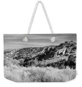 New Mexico Series - A View Of The Land Weekender Tote Bag
