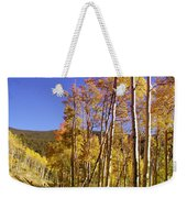 New Mexico Series - Autumn On The Mountain Weekender Tote Bag