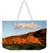 New Mexico Series - Cloud Over Autumn Weekender Tote Bag