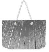 New Mexico Series - Leaf Free Black And White Weekender Tote Bag