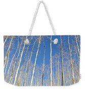 New Mexico Series - Leaf Free On The Mountain Weekender Tote Bag