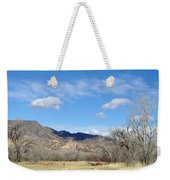 New Mexico Series - Winter Desert Beauty Weekender Tote Bag