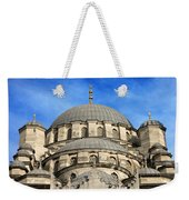 New Mosque Domes In Istanbul Weekender Tote Bag