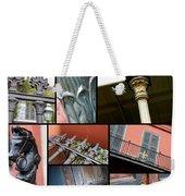 New Orleans Collage 1 Weekender Tote Bag