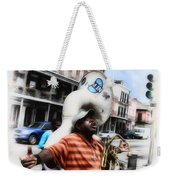 New Orleans Street Musician - Tuba Man Weekender Tote Bag