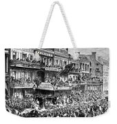New Orleans Streetscene Weekender Tote Bag