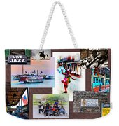 New Orleans The Birthplace Of Jazz Weekender Tote Bag