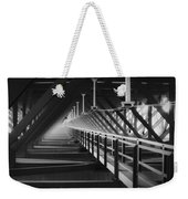 New River Gorge Bridge Catwalk Weekender Tote Bag