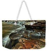 New River Waterfall Weekender Tote Bag