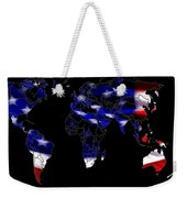 New World Map Weekender Tote Bag