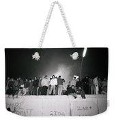 New Year At The Berlin Wall Weekender Tote Bag