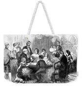 New Years Party, 1857 Weekender Tote Bag