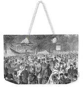 New York: Bandstand, 1869 Weekender Tote Bag
