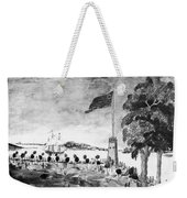 New York: Battery, 1793 Weekender Tote Bag