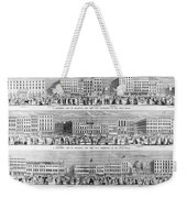 New York: Broadway, 1851 Weekender Tote Bag