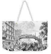 New York: Broadway, 1852 Weekender Tote Bag