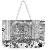 New York Charity Ball, 1884 Weekender Tote Bag