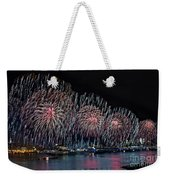 New York City Celebrates The 4th Weekender Tote Bag