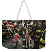 New York City Firefighters Host Weekender Tote Bag