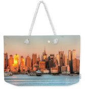 New York City Moonrise IIi Weekender Tote Bag
