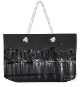 New York City Skyline Morning Twilight Xvi Weekender Tote Bag