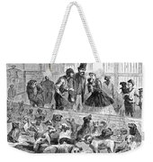 New York: Dog Pound, 1866 Weekender Tote Bag