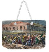 New York: Draft Riots 1863 Weekender Tote Bag
