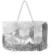 New York: Fire, 1853 Weekender Tote Bag