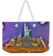 New York In Las Vegas Weekender Tote Bag