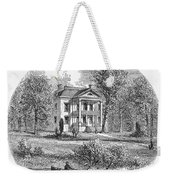 New York: Mansion, 1760 Weekender Tote Bag