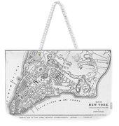 New York: Maps Weekender Tote Bag