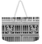 New York Mets Jail Weekender Tote Bag by Rob Hans