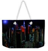 New York Midnight Weekender Tote Bag
