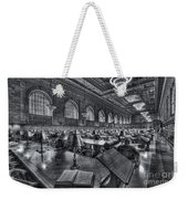 New York Public Library Main Reading Room Vi Weekender Tote Bag by Clarence Holmes